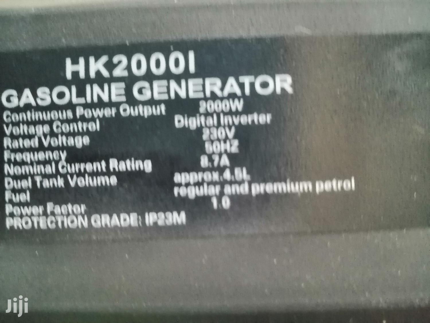 Inverter Silent Generator | Electrical Equipment for sale in Karen, Nairobi, Kenya