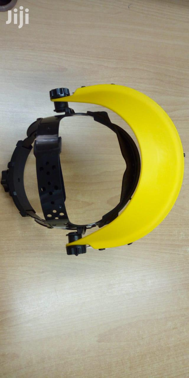Archive: Safety Helmet With Face Shield
