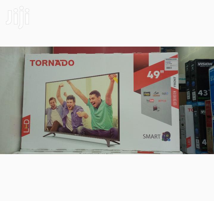 Tornado Smart LED 49inch TV   TV & DVD Equipment for sale in Nairobi Central, Nairobi, Kenya