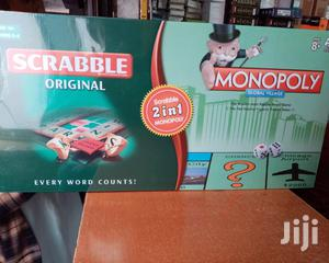 2 In 1 Scrabble And Monopoly Board Game | Books & Games for sale in Nairobi, Nairobi Central