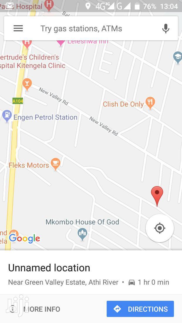 Plot Kitengela to Lease.
