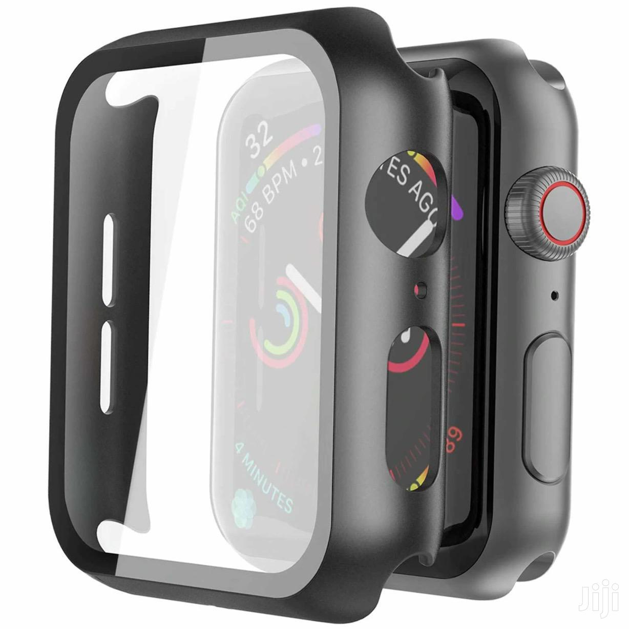 Apple Watch Glass + Case Black Color 44mm | Smart Watches & Trackers for sale in Mvita, Mombasa, Kenya