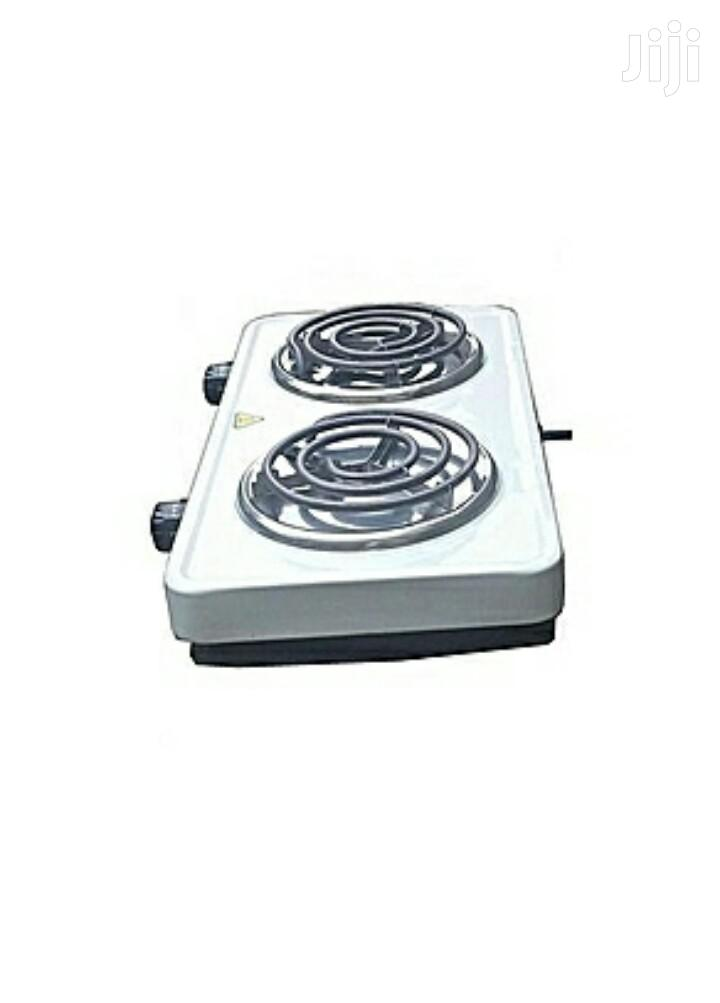 Modern Double Electric Hotplate Cooker