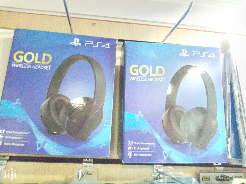 Ps4 Gold Wireless Headsets In Nairobi Central Headphones Gamerz Lounge Kenya Jiji Co Ke For Sale In Nairobi Central Buy Headphones From Gamerz Lounge Kenya On Jiji Co Ke