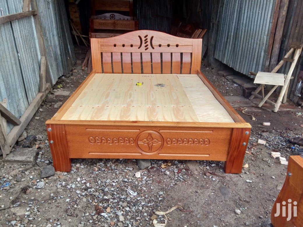 Archive: 4/6 Mahogany Bed