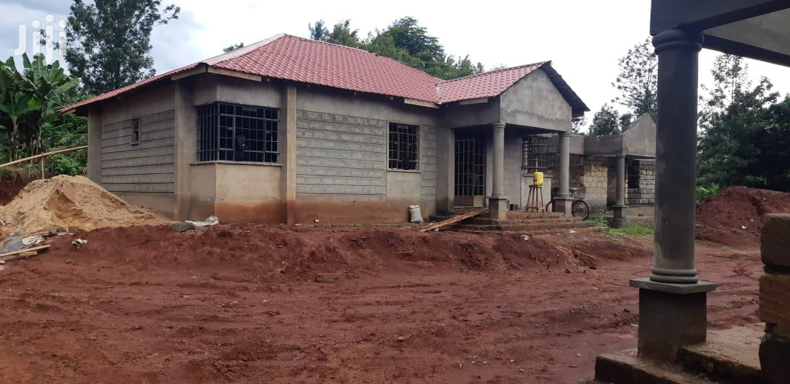 80% Complete 3 Bedroom Bungalow With Master Ensuite And SQ
