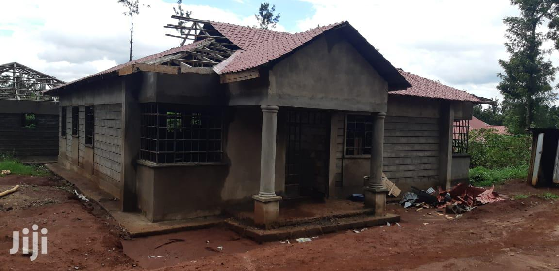80% Complete 3 Bedroom Bungalow With Master Ensuite And SQ | Houses & Apartments For Sale for sale in Juja, Kiambu, Kenya