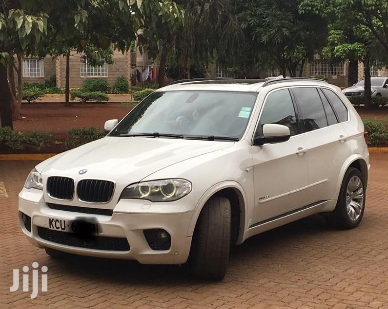 BMW X5 2012 White