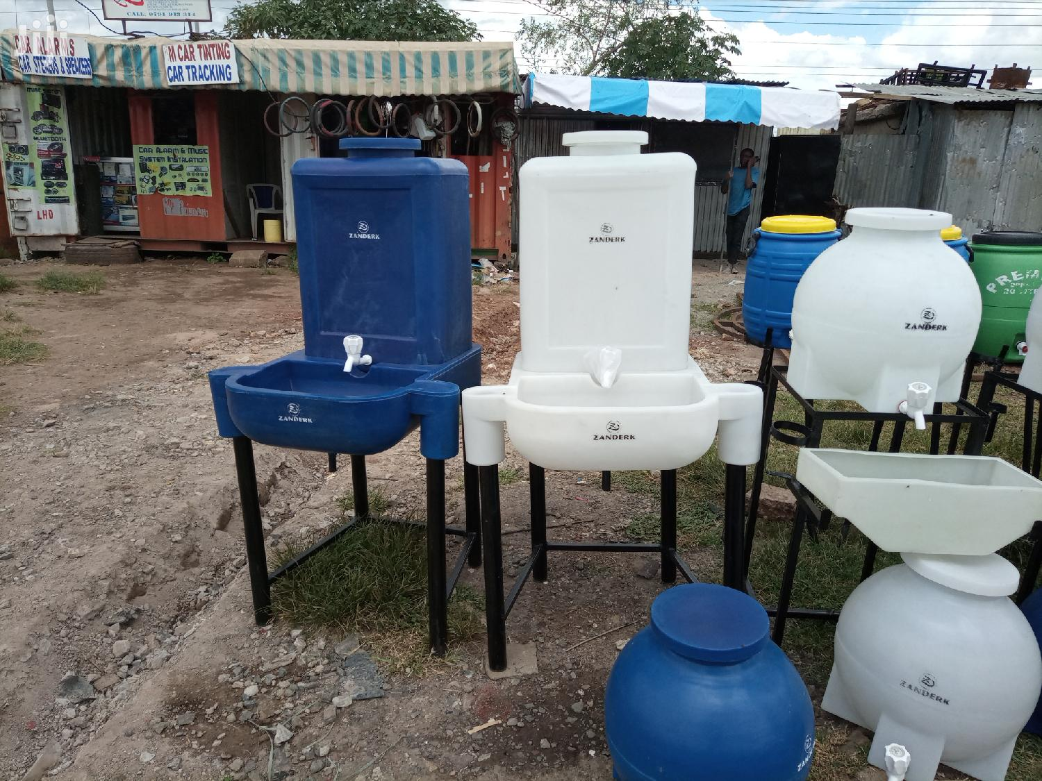 Hand Wash Stations
