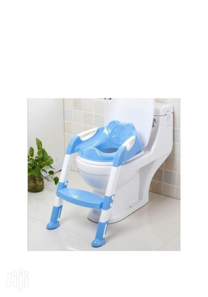 NEW Strong Portable Step Ladder Potty Seat (2-7 Years)- Blue