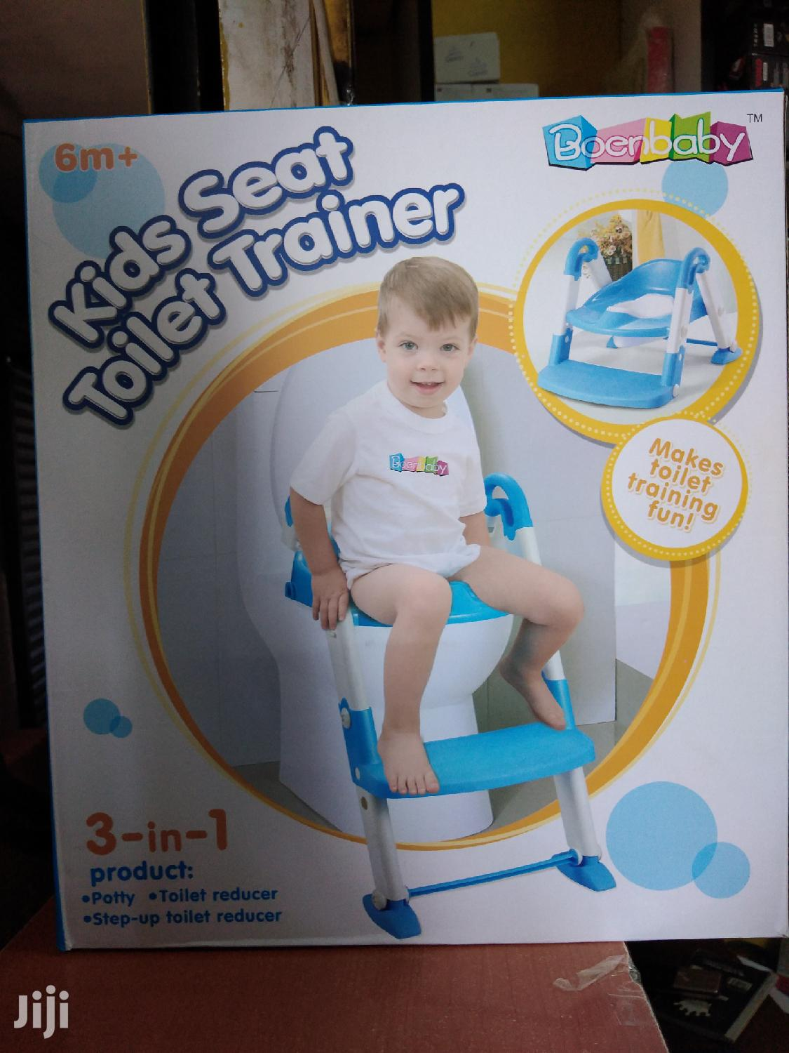 NEW Strong Portable Step Ladder Potty Seat (2-7 Years)- Blue | Baby & Child Care for sale in Nairobi Central, Nairobi, Kenya