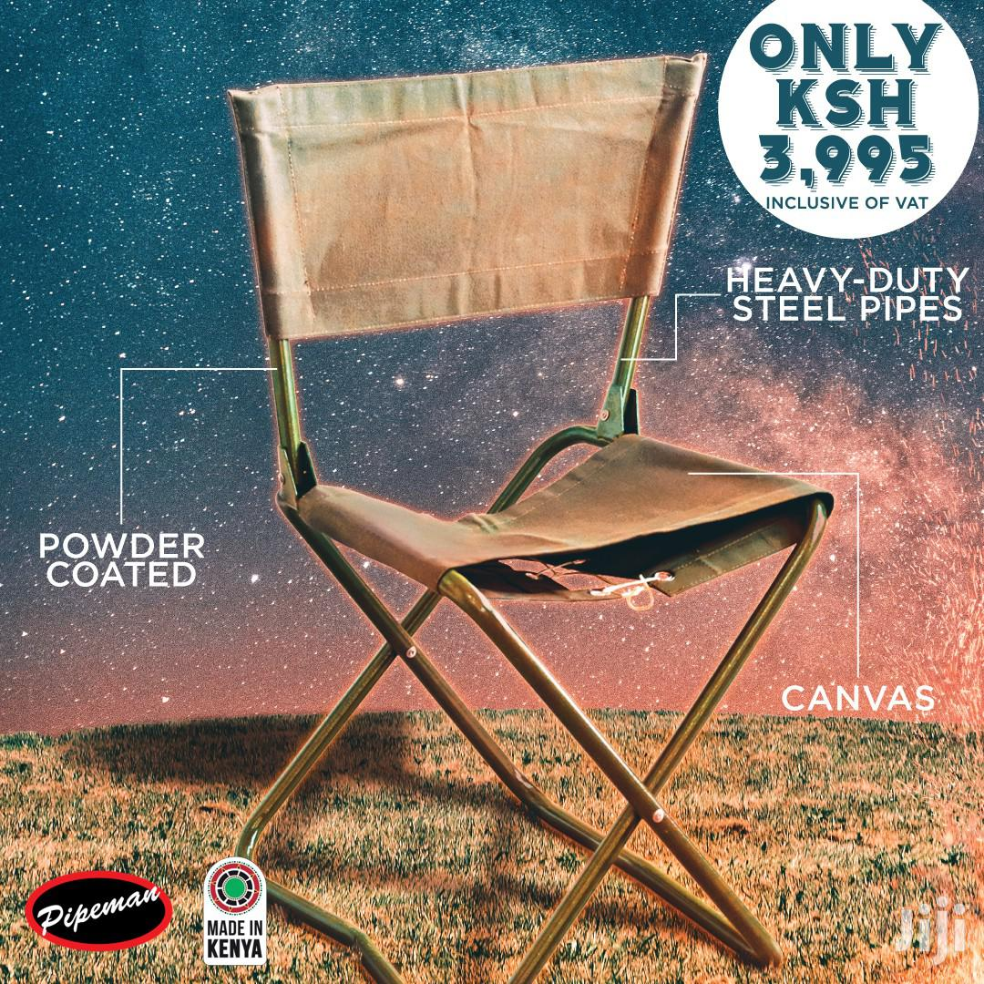 Pipeman, Camping Chairs