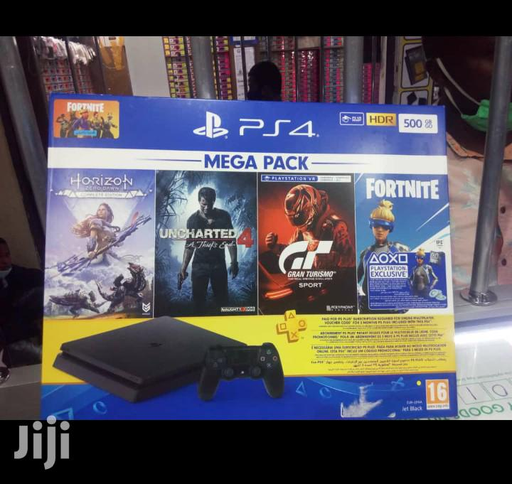 Ps4 Mega Pack 500gb With 4 Free Games