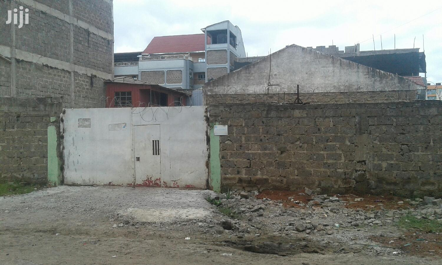 Archive: Utawala 50*100 Ft Yard To Let Near GSU. Perimeter Wall, Razor, Cabro.