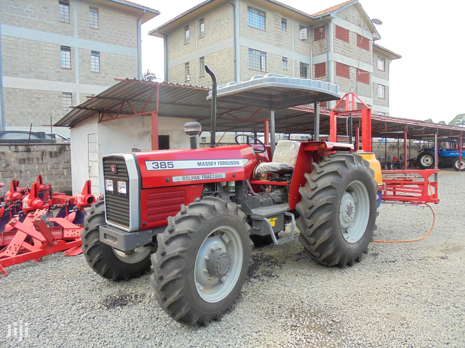 4 Wheel Drive Tractor Mf 385