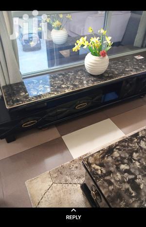 Black Marble TV Stand | Furniture for sale in Nairobi, Nairobi Central