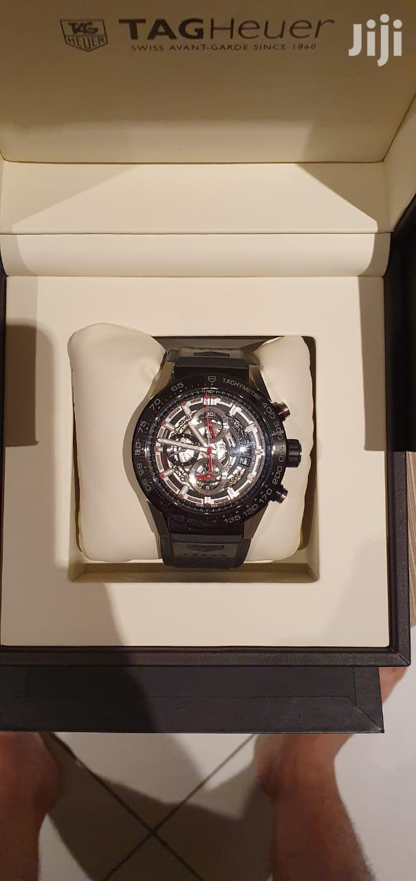 Tag Heuer Carrera 01 Automatic Watch 450k ONLY. Market Price: 600k.