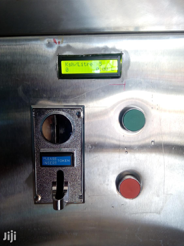 Water Coin Machine