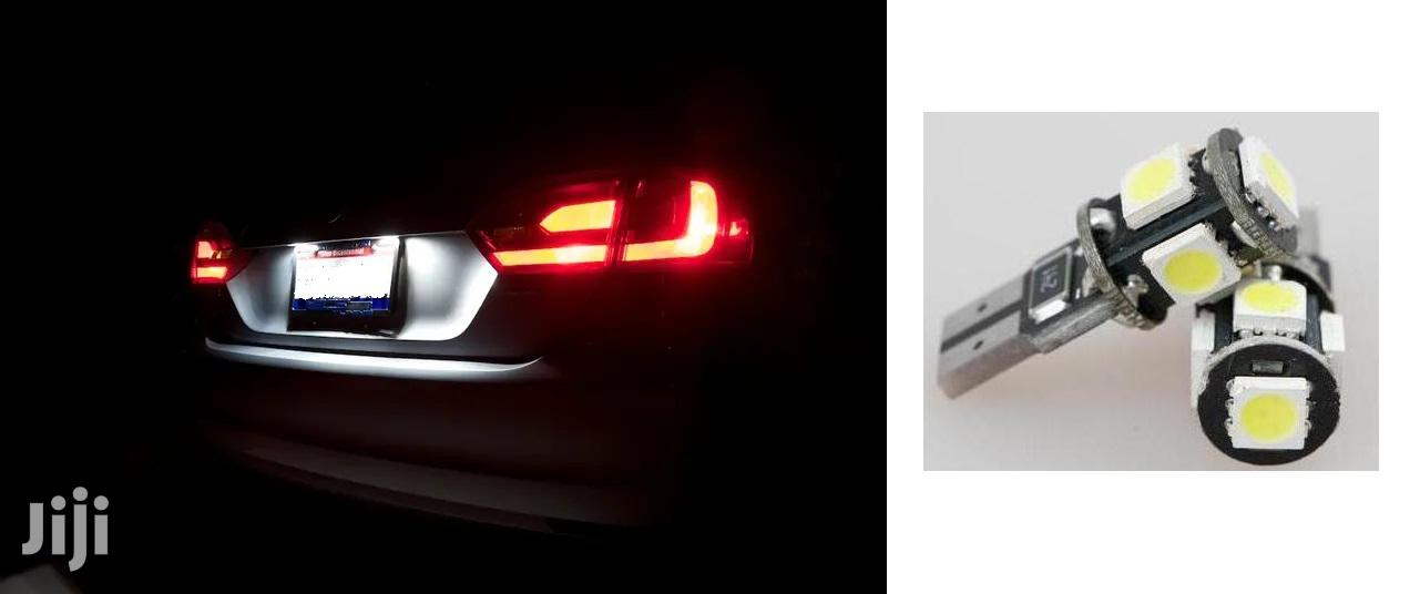 Rear White Number Plate LED Bulbs: For Toyota,Nissan,Subaru,Mazda,Vw