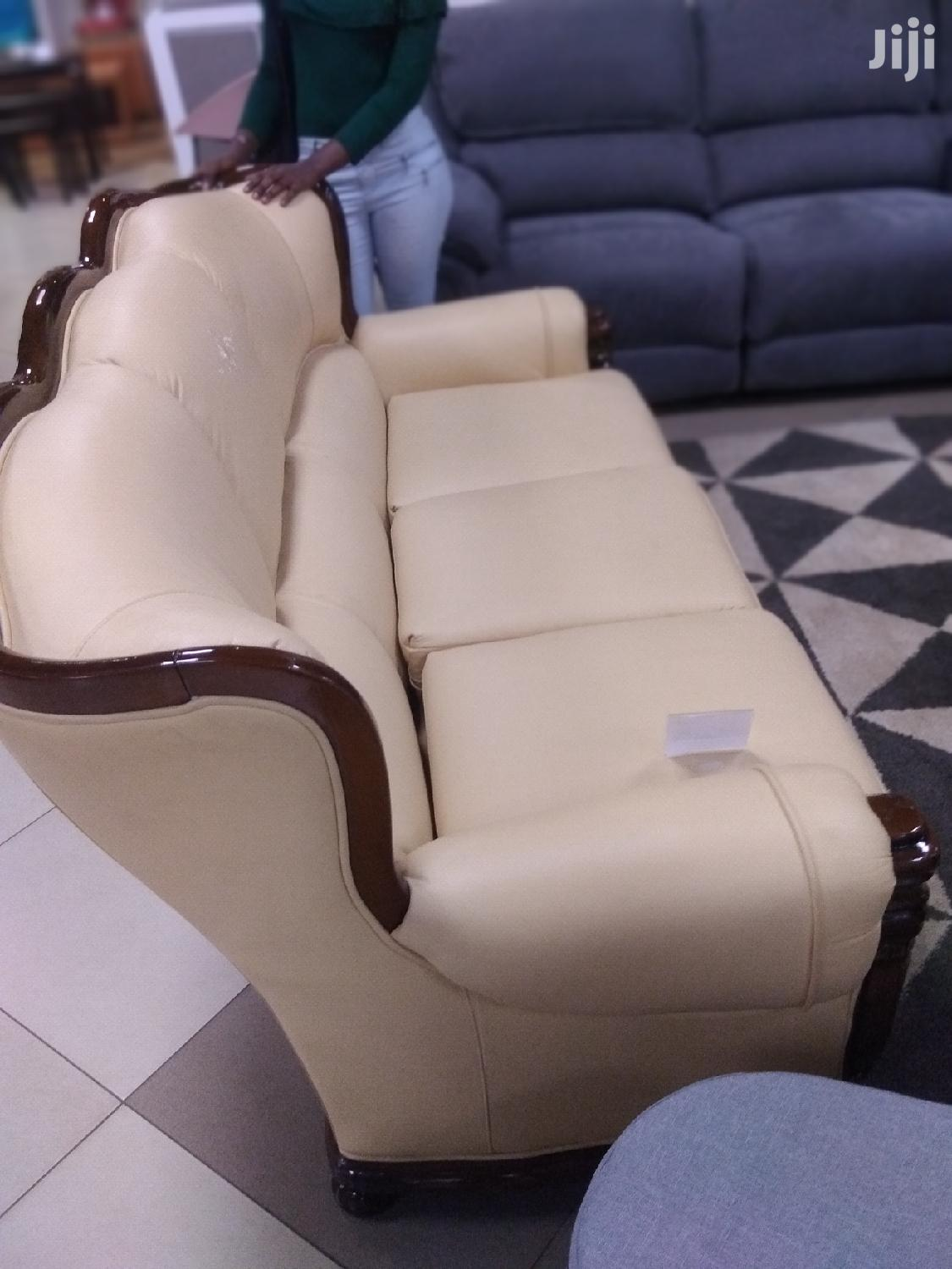 Leather Sofa. | Furniture for sale in Nairobi Central, Nairobi, Kenya