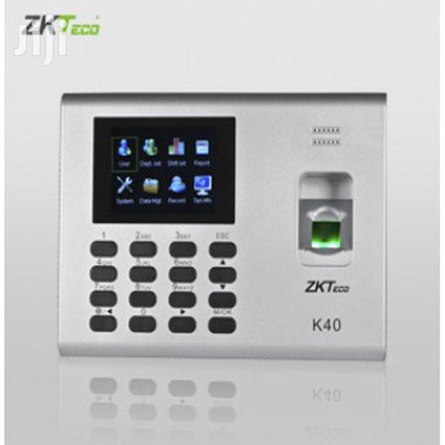 Zk Teco K40 Fingerprint And Time Attendance