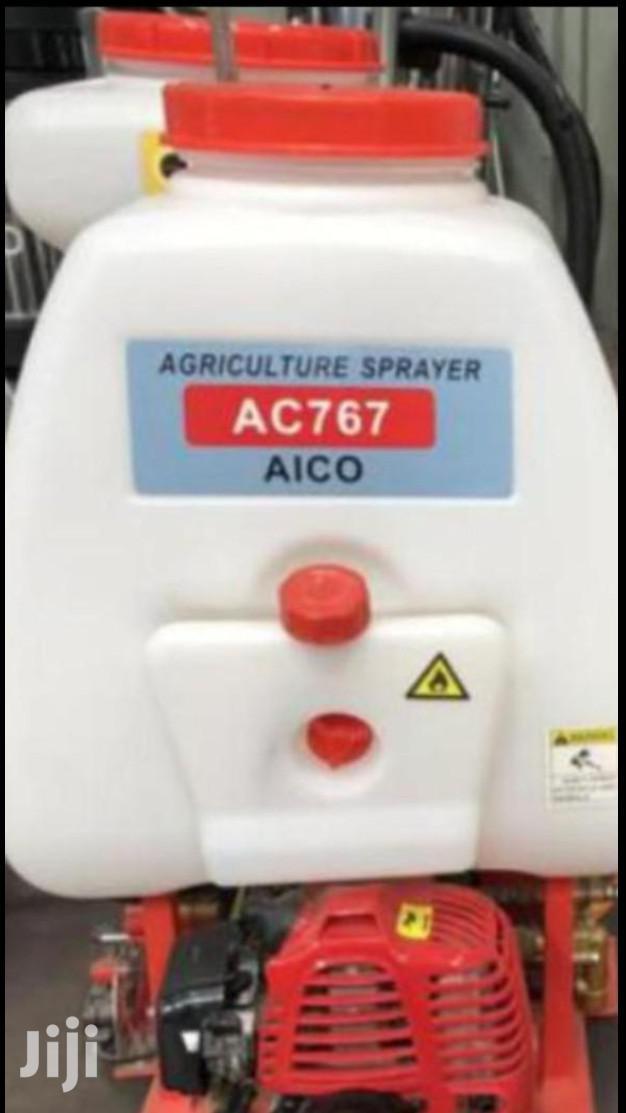 Petrol Powered Knapsack Sprayer