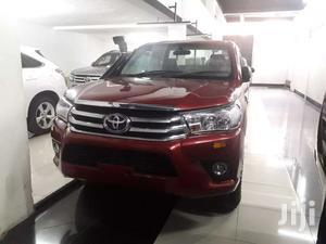 Toyota Hilux Single Cabin Maroon
