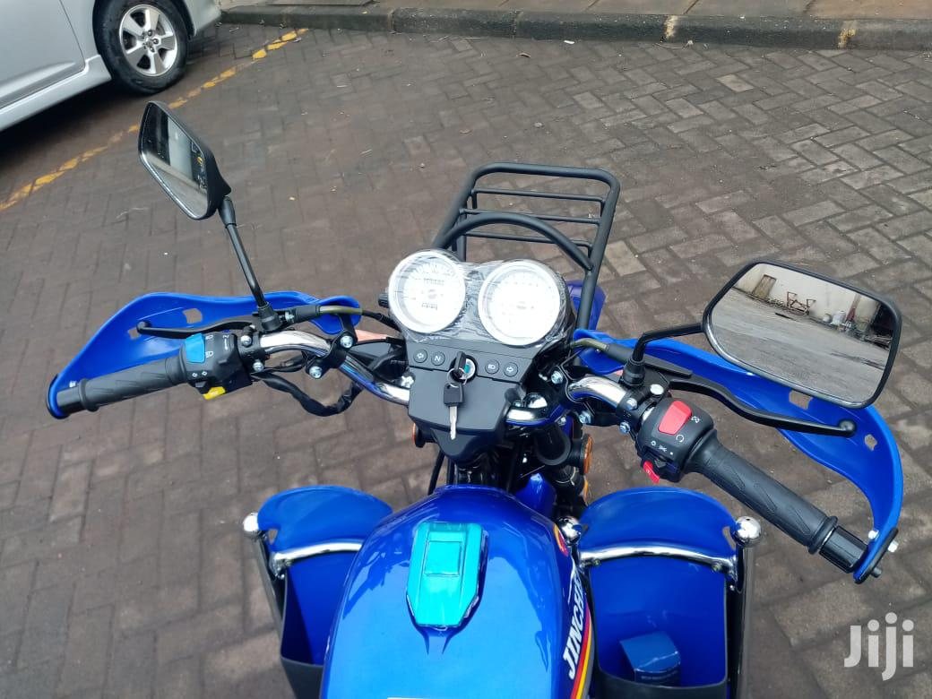 New Jincheng JC150-E 2019 Blue | Motorcycles & Scooters for sale in Thika, Kiambu, Kenya
