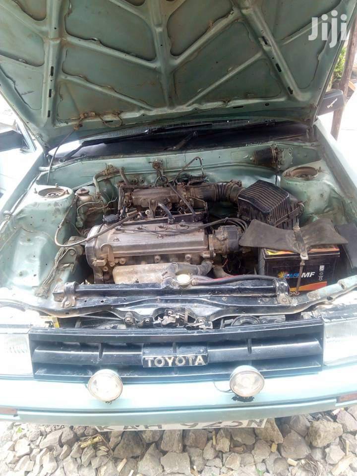 Archive: Toyota Sprinter 1989 Green