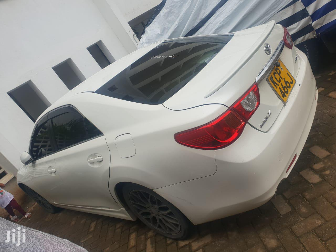 Toyota Mark X 2010 White | Cars for sale in Kisauni, Mombasa, Kenya