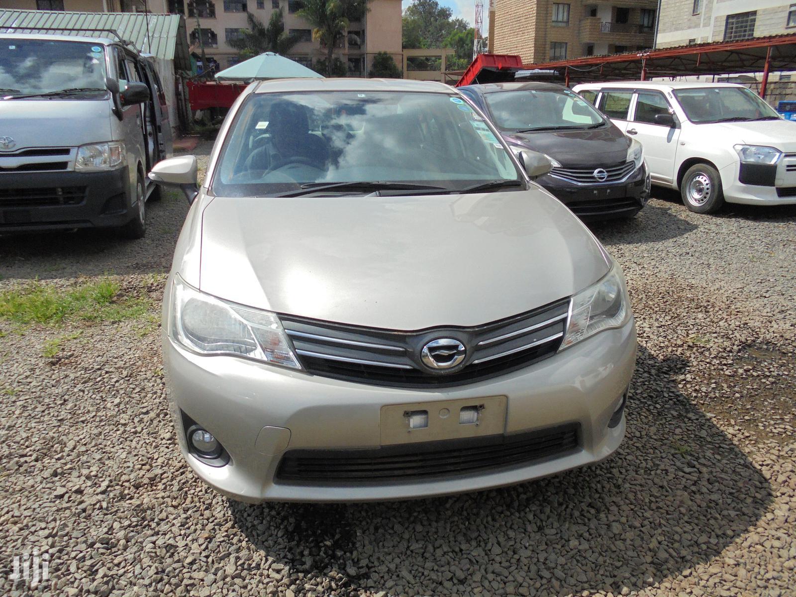 Toyota Corolla 2012 Gold