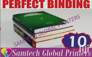 Perfect Binding Or Book Binding   Other Services for sale in Nairobi, Nairobi Central
