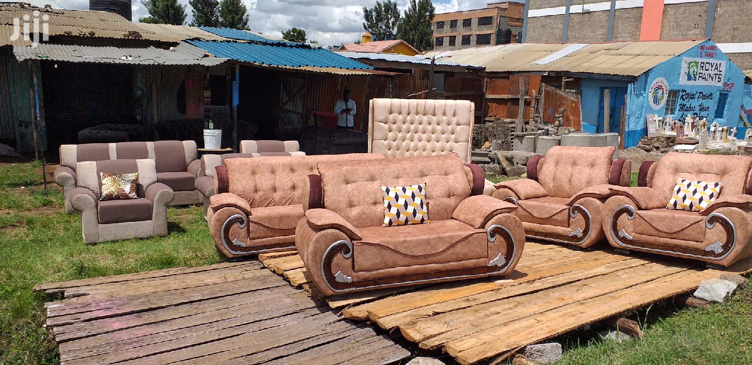 Brand New Seats And King Size Bed Available | Furniture for sale in Ruiru, Kiambu, Kenya