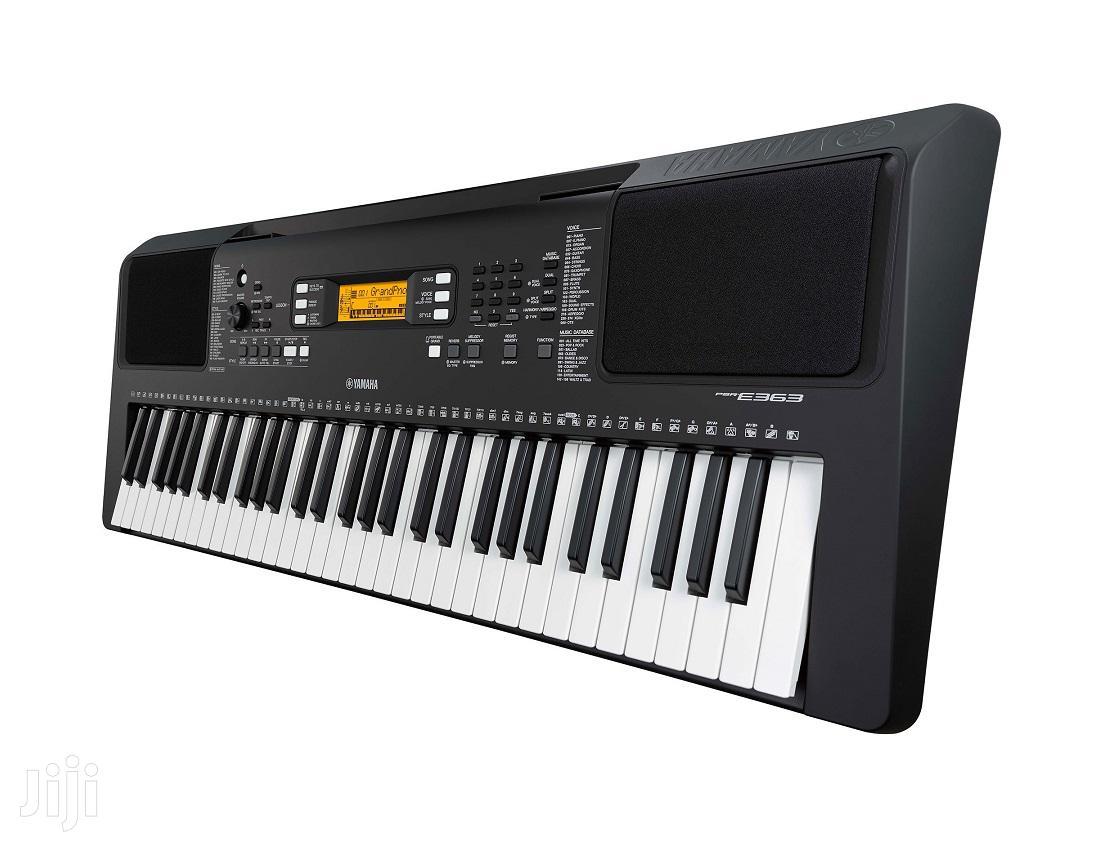 Archive: Yamaha PSR-E363 Keyboard