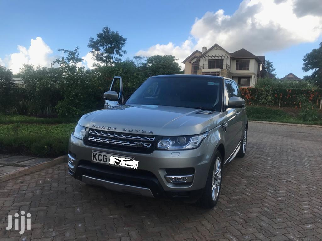 Land Rover Range Rover Sport 2014 HSE 4x4 (3.0L 6cyl 8A) Gray