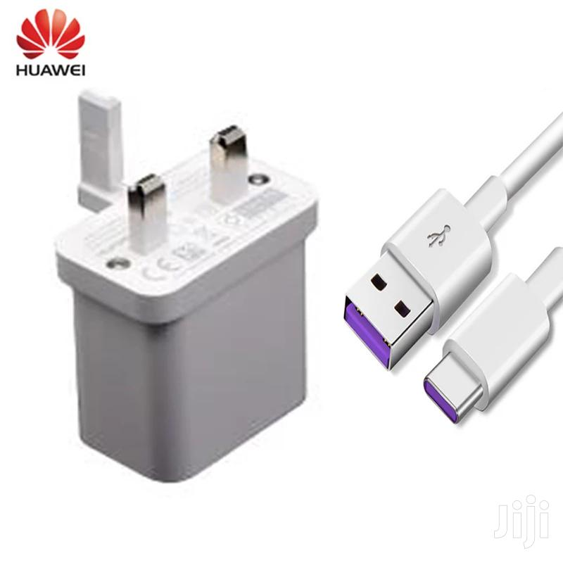 Original Huawei 40W Fast Wall Charger USB C Cable for P30 Pro,Mate 30, | Accessories for Mobile Phones & Tablets for sale in Nairobi Central, Nairobi, Kenya