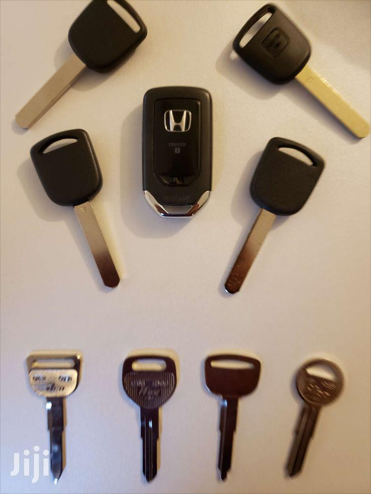 Archive: For All Types Of Honda Car Keys Either Spare Or Programming