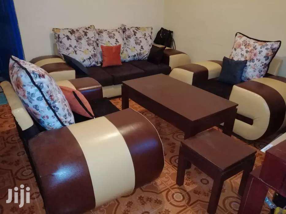 Sofa Five Seater At A Reasonable Price | Furniture for sale in Flamingo, Nakuru, Kenya