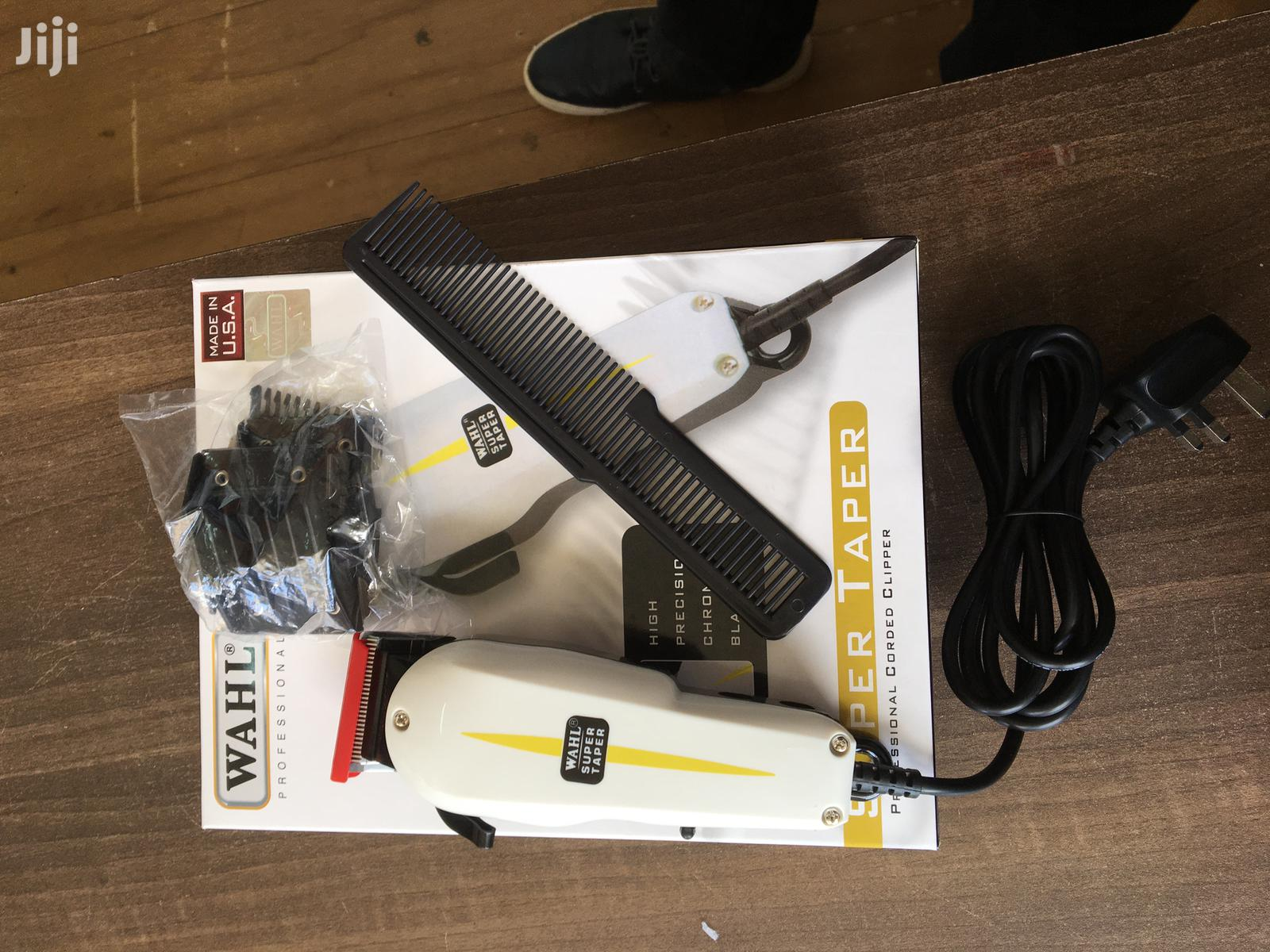 Original Wahl Super Taper Shaving Machine With Four Combs | Tools & Accessories for sale in Nairobi Central, Nairobi, Kenya