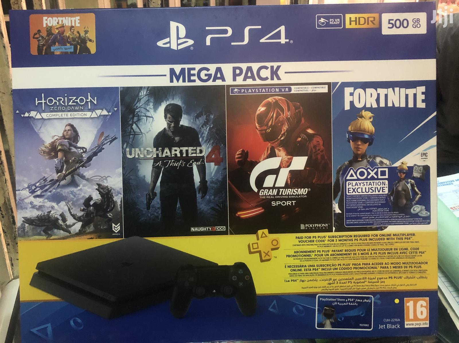 Playstation 4 Mega Pack 500gb Slim