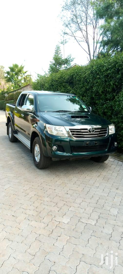 Archive: New Toyota Hilux 2012 Green
