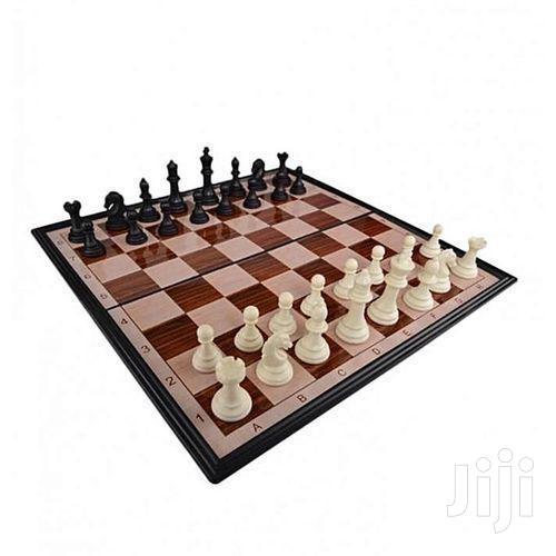 Chess Strategy Board Game For Brain Development.