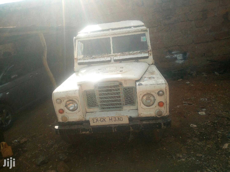 Archive: Land Rover Defender 1963 White