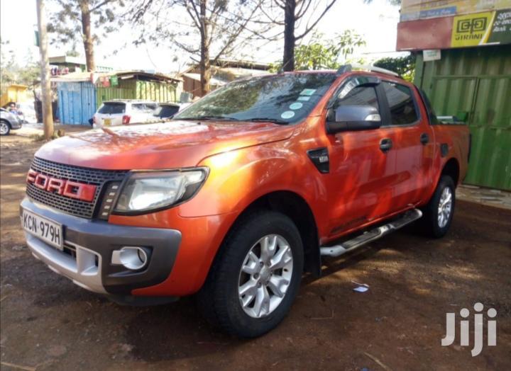 Ford Ranger 2012 Orange