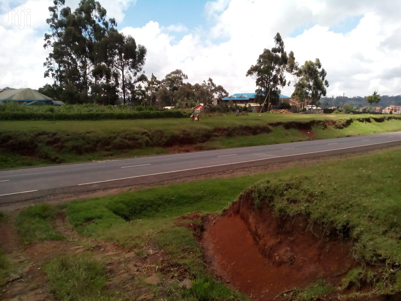 1/4 Plot for Sale in Kimende Along the Highway With Title