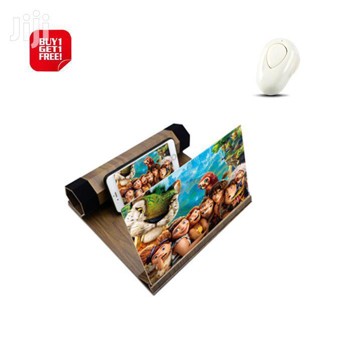Phone Magnifier 3D Enlarged Screen Mobile Holder