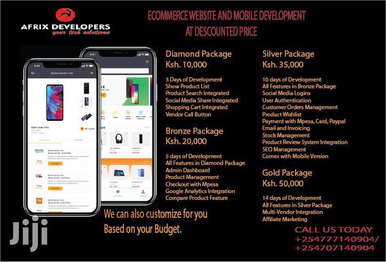 Ecommerce Website Development | Computer & IT Services for sale in Mvita, Mombasa, Kenya