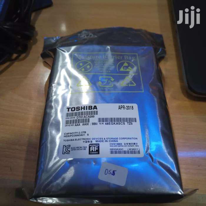 Toshiba Hard Disk Drives For Desktops 1tb 6k 2tb 8k | Computer Hardware for sale in Eldoret CBD, Uasin Gishu, Kenya
