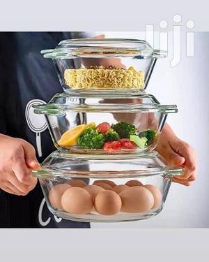 Glass Bowls With Glass Lids | Kitchen & Dining for sale in Nairobi, Nairobi Central