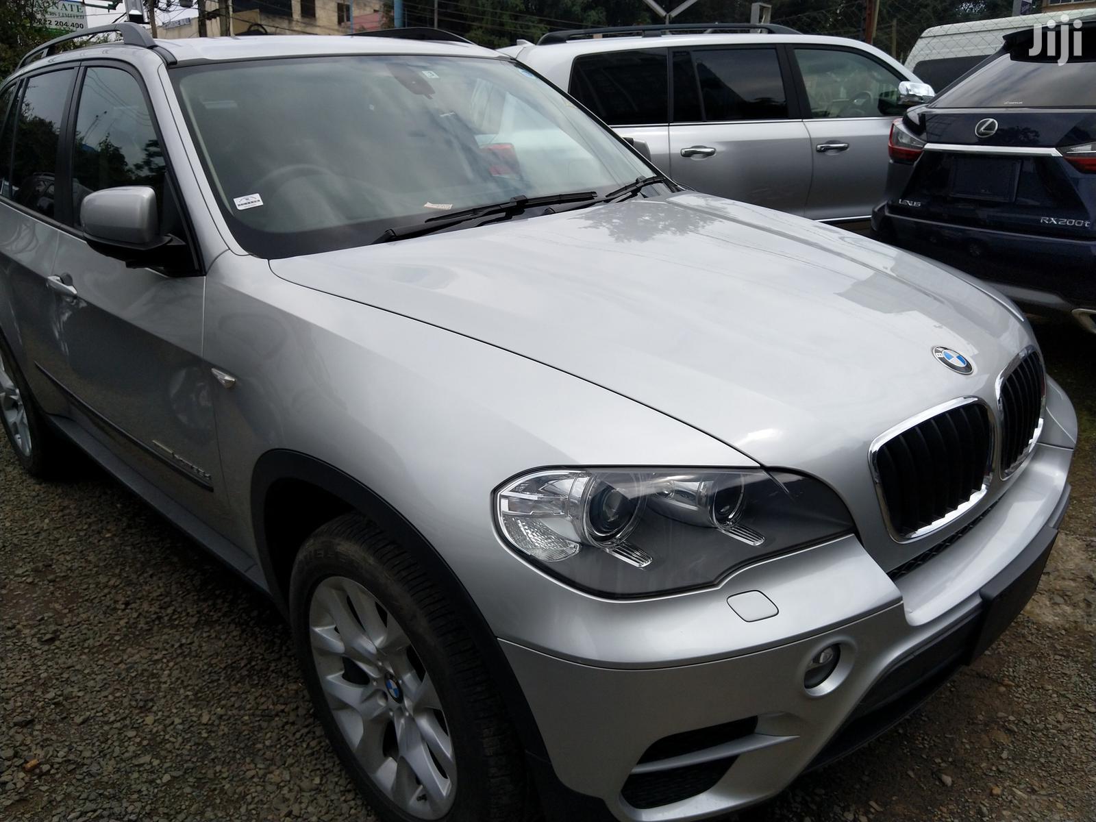 BMW X5 2013 Silver